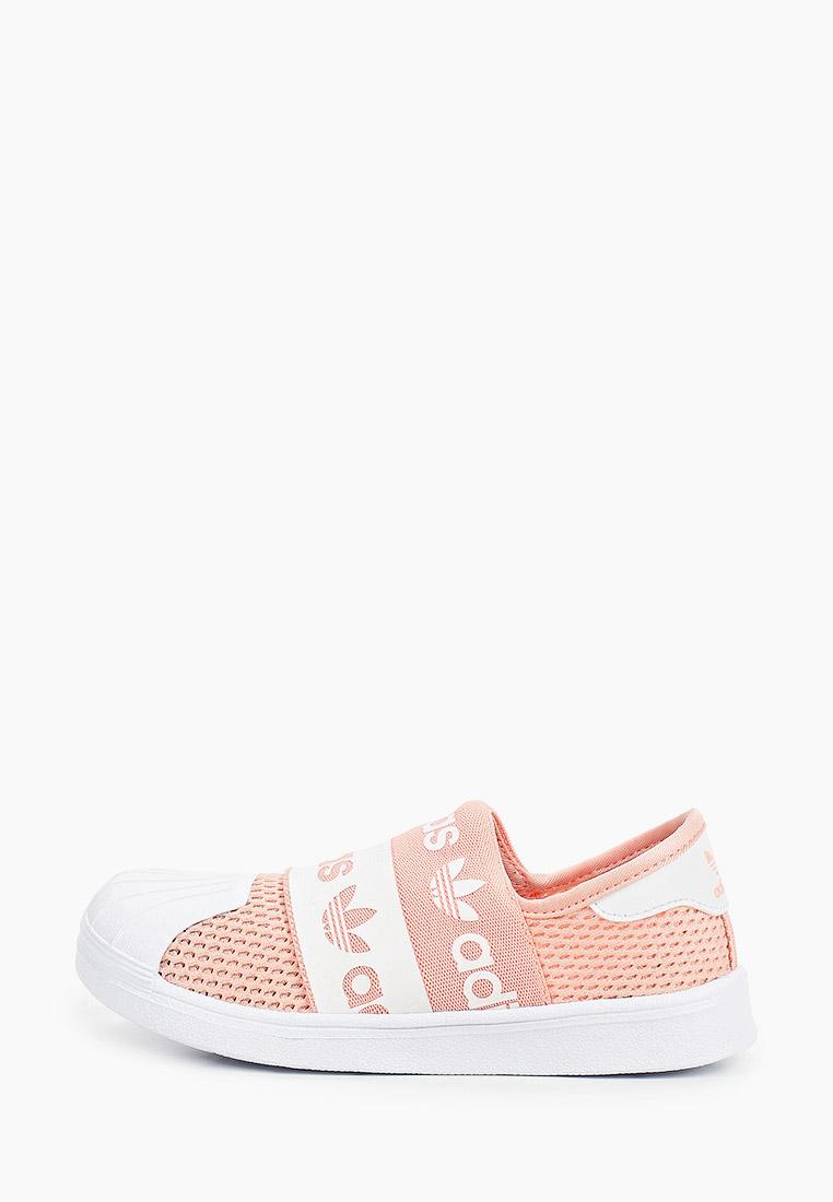 Мокасины для девочек Adidas Originals (Адидас Ориджиналс) EG7883