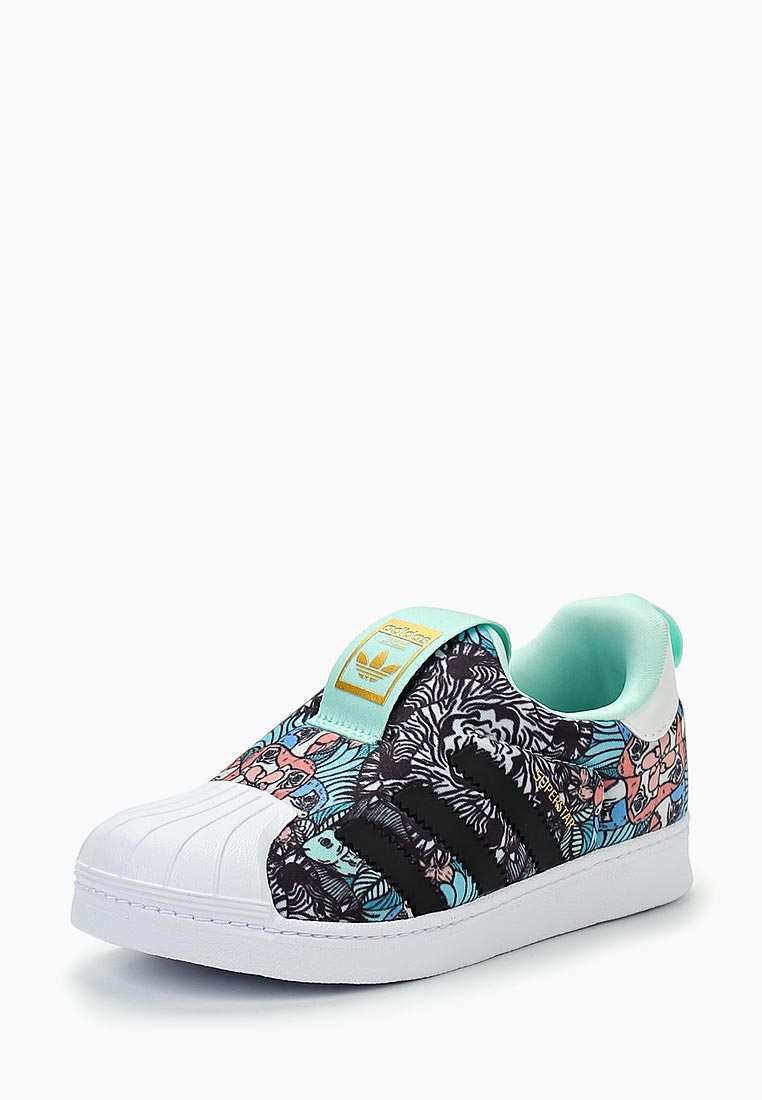 Мокасины для девочек Adidas Originals (Адидас Ориджиналс) B75616