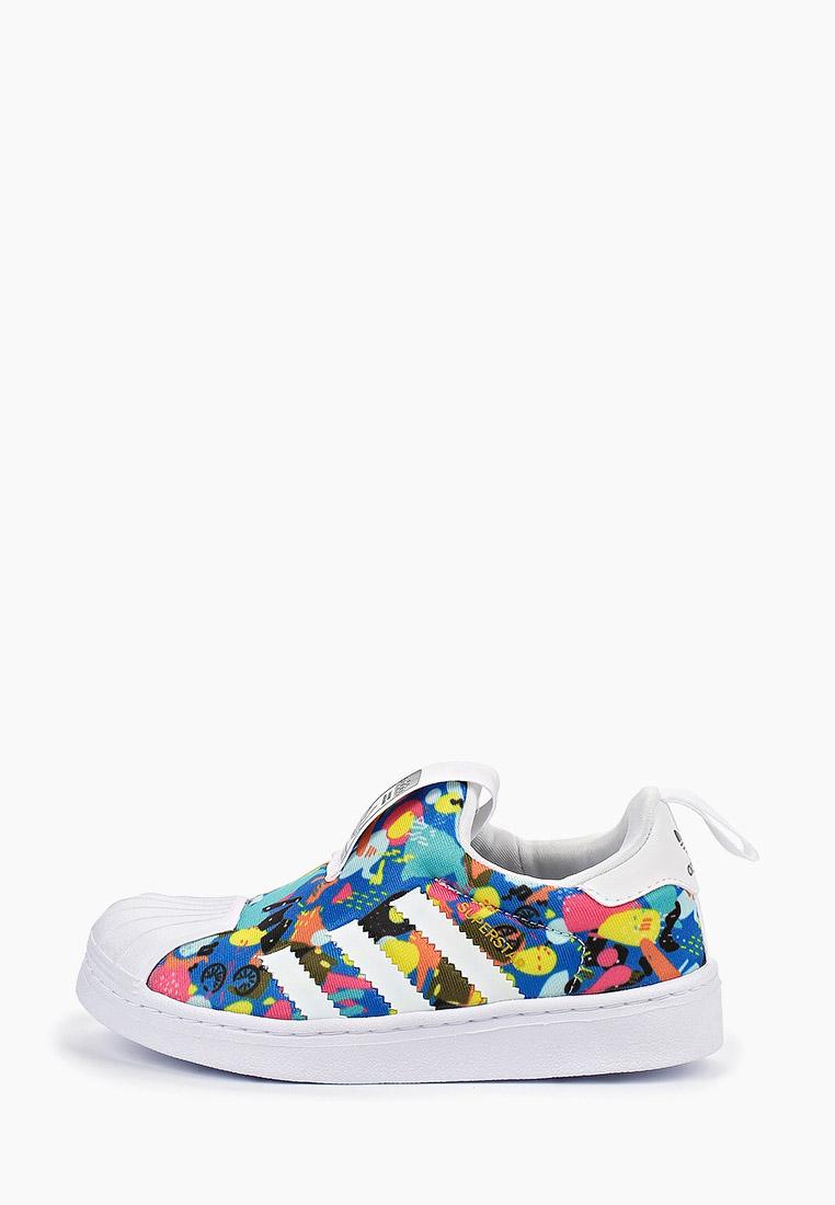 Мокасины для мальчиков Adidas Originals (Адидас Ориджиналс) EE6264