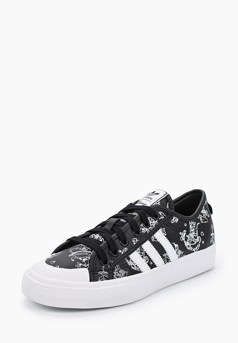 Кеды для мальчиков Adidas Originals (Адидас Ориджиналс) FW9596: изображение 2
