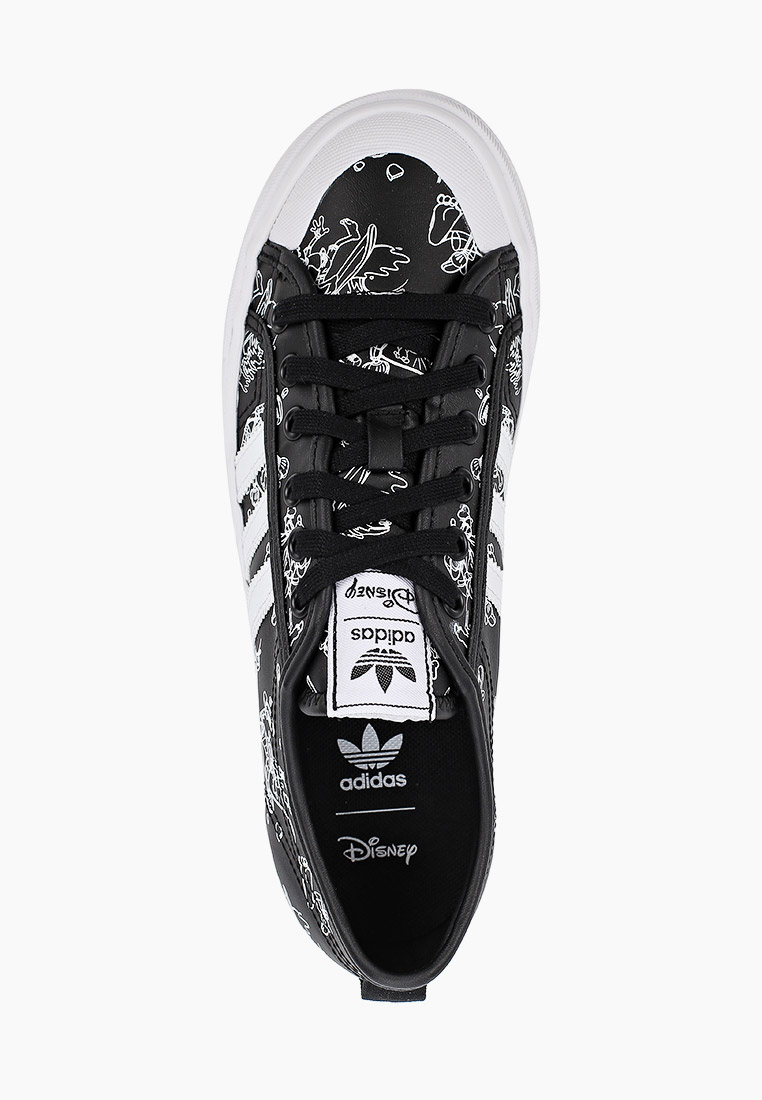 Кеды для мальчиков Adidas Originals (Адидас Ориджиналс) FW9596: изображение 4