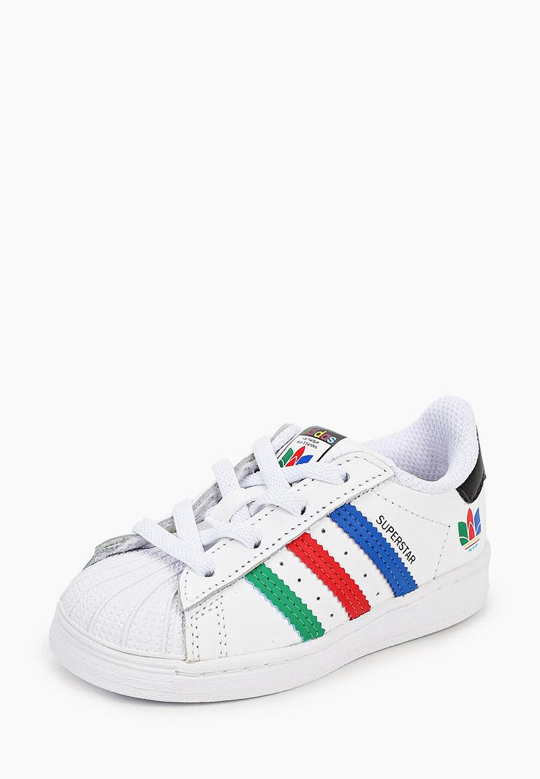 Кеды для мальчиков Adidas Originals (Адидас Ориджиналс) FW5240: изображение 2