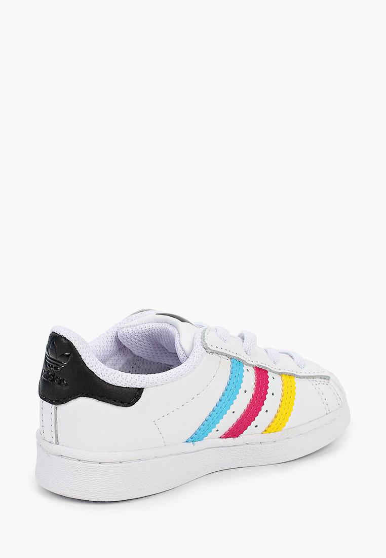 Кеды для мальчиков Adidas Originals (Адидас Ориджиналс) FW5240: изображение 3