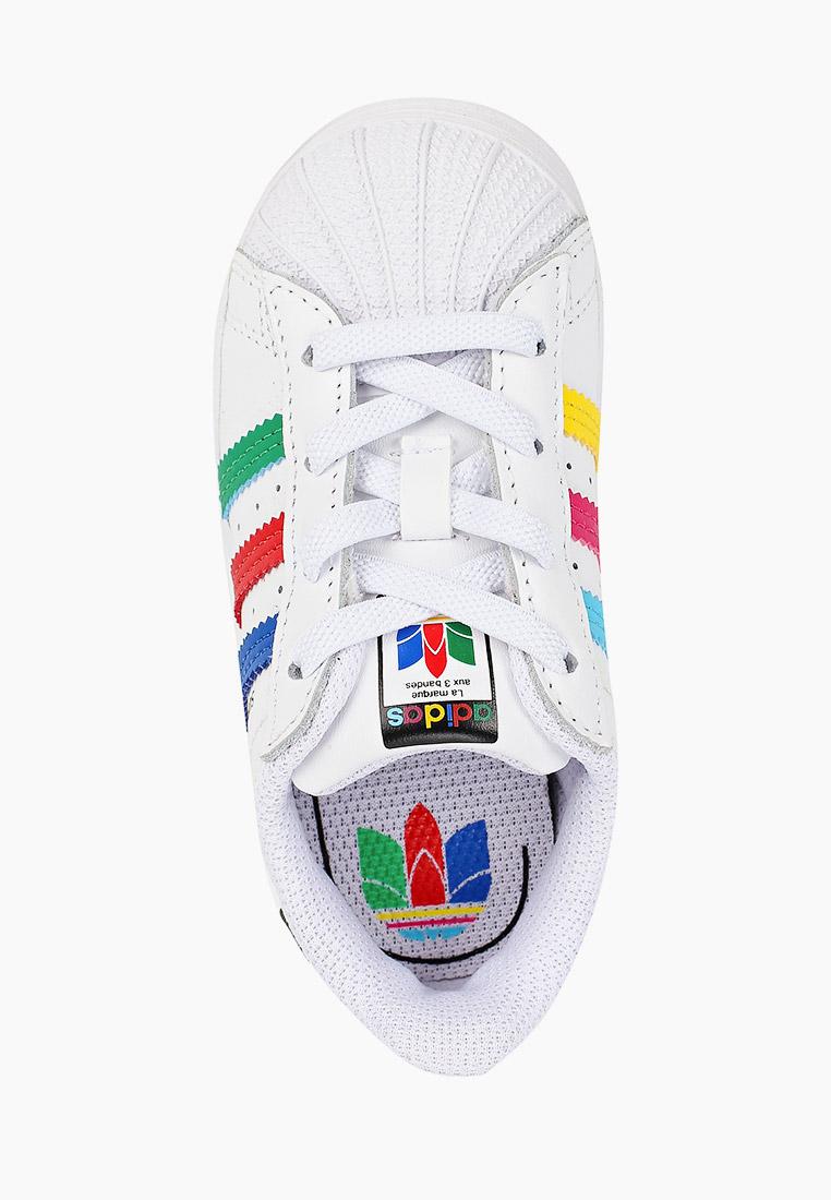 Кеды для мальчиков Adidas Originals (Адидас Ориджиналс) FW5240: изображение 4