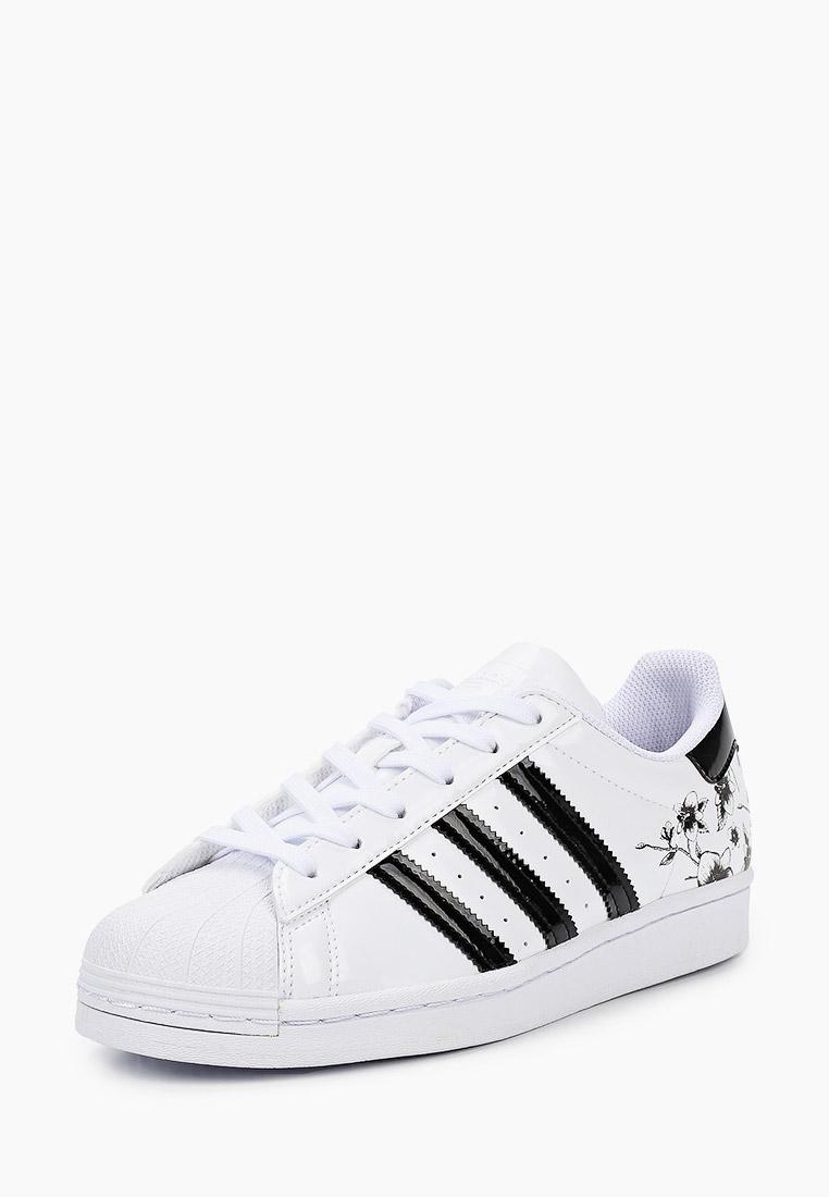 Кеды для мальчиков Adidas Originals (Адидас Ориджиналс) FW0779: изображение 2