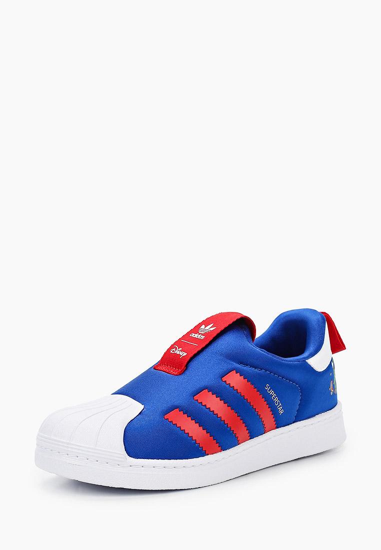Мокасины для мальчиков Adidas Originals (Адидас Ориджиналс) FW1990: изображение 2