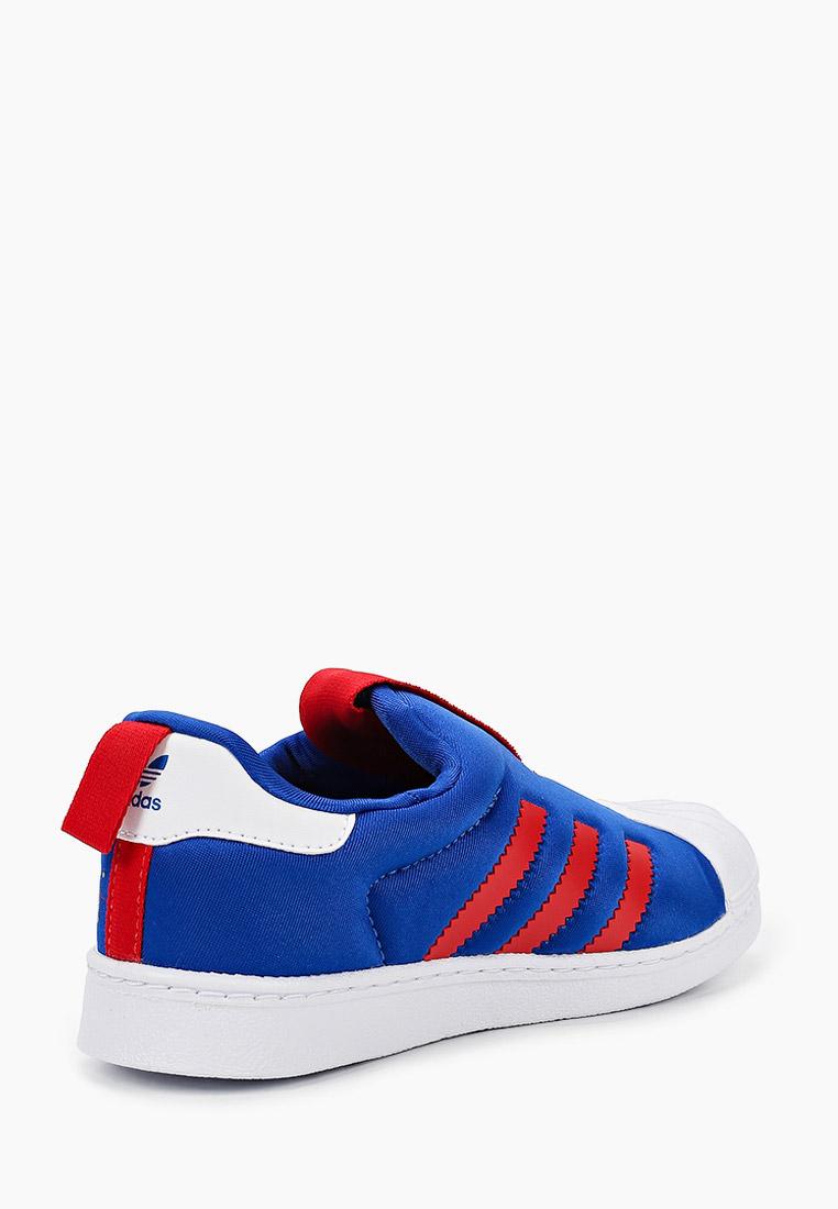 Мокасины для мальчиков Adidas Originals (Адидас Ориджиналс) FW1990: изображение 3