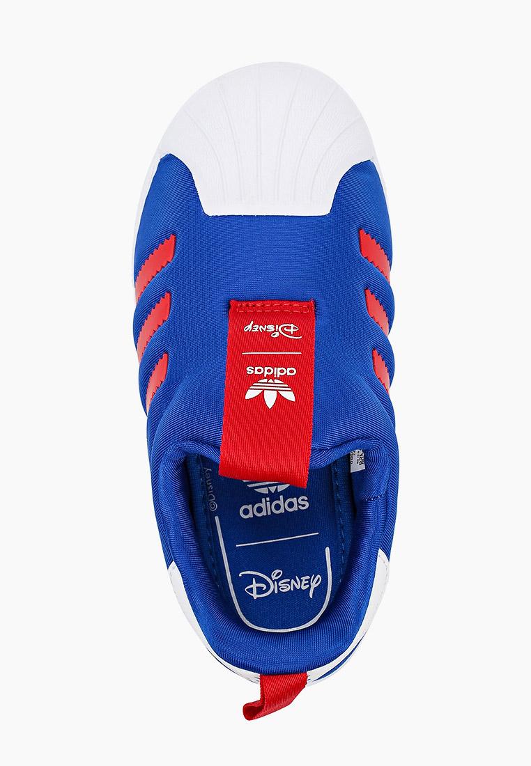 Мокасины для мальчиков Adidas Originals (Адидас Ориджиналс) FW1990: изображение 4