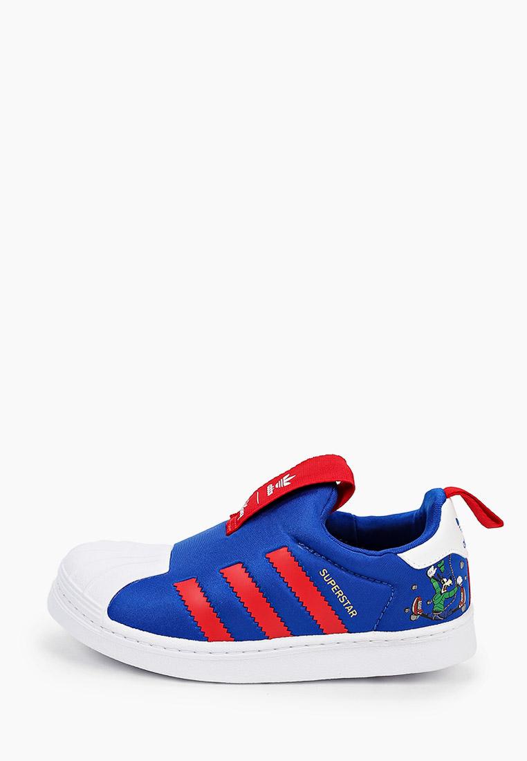 Мокасины для мальчиков Adidas Originals (Адидас Ориджиналс) FW8041: изображение 1
