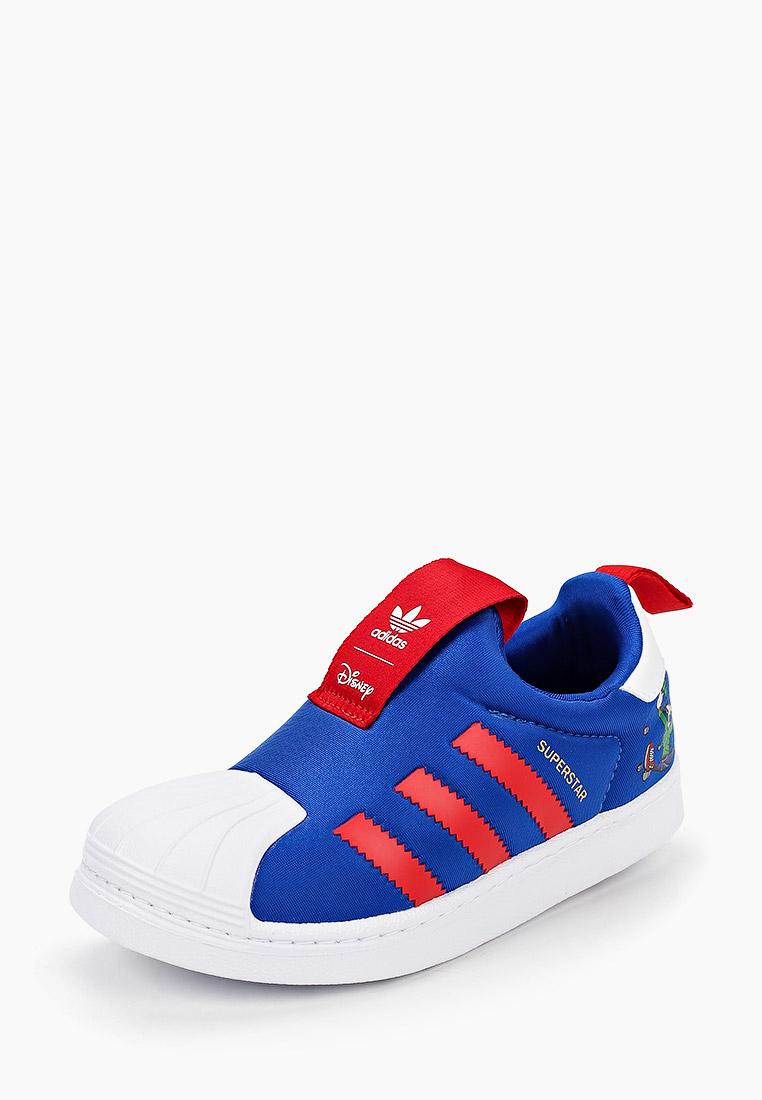 Мокасины для мальчиков Adidas Originals (Адидас Ориджиналс) FW8041: изображение 2