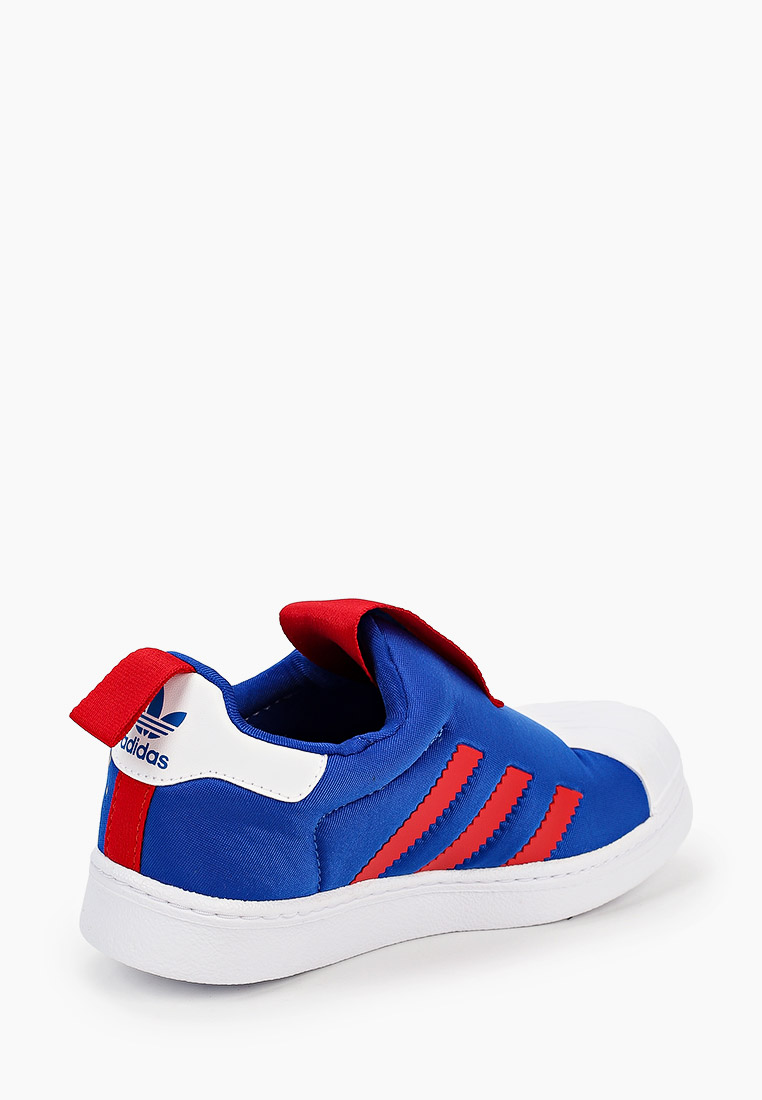Мокасины для мальчиков Adidas Originals (Адидас Ориджиналс) FW8041: изображение 3