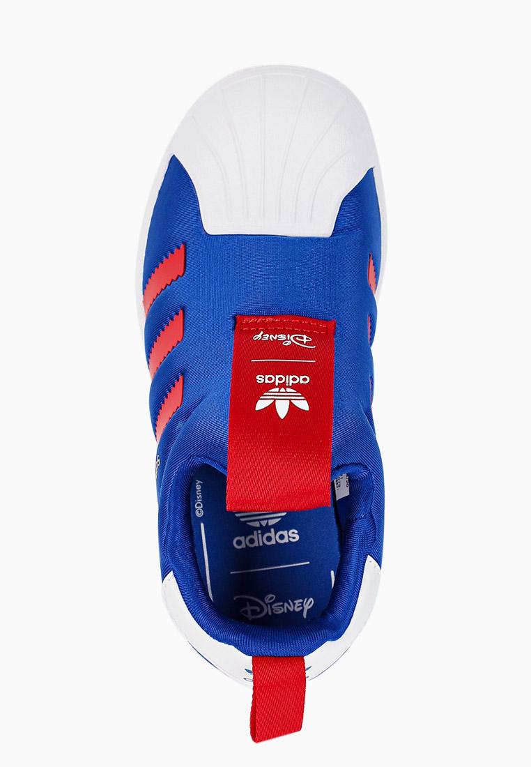 Мокасины для мальчиков Adidas Originals (Адидас Ориджиналс) FW8041: изображение 4