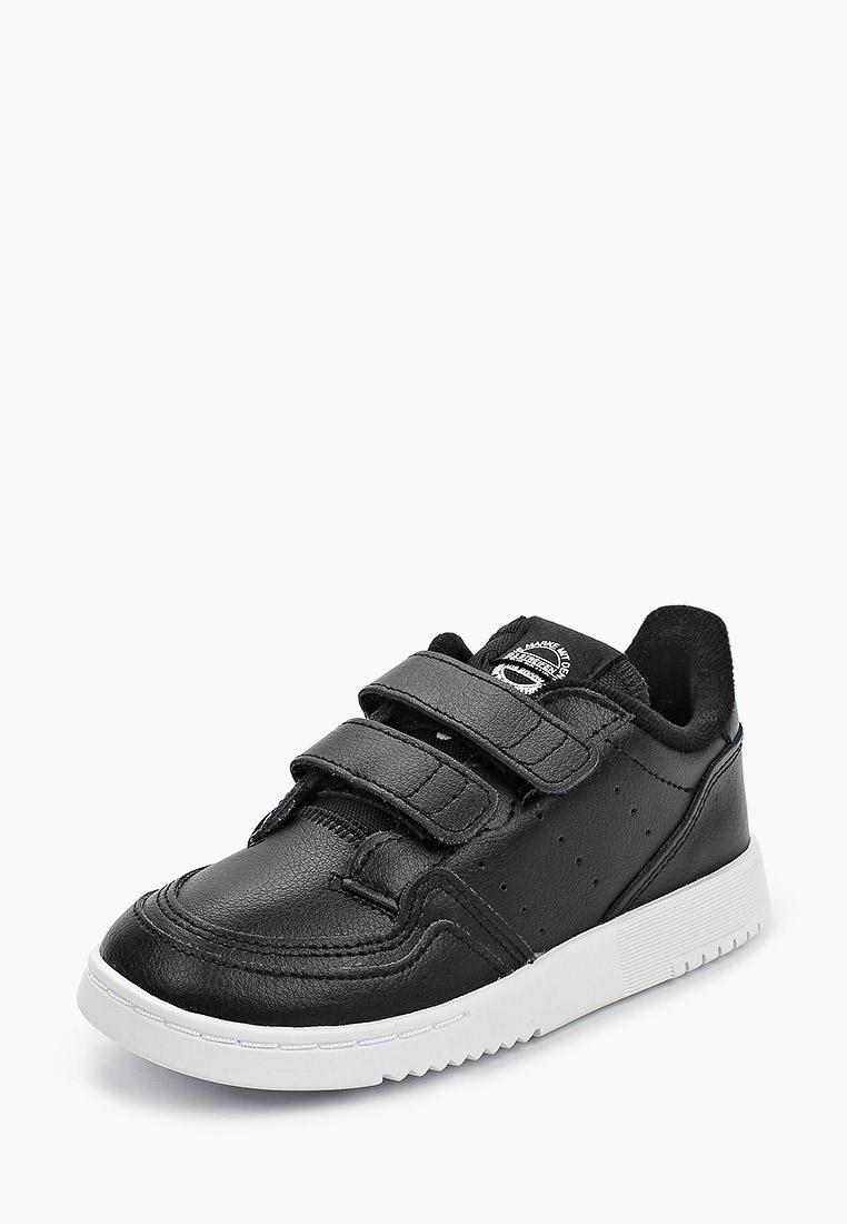 Кеды для мальчиков Adidas Originals (Адидас Ориджиналс) EG0412: изображение 2