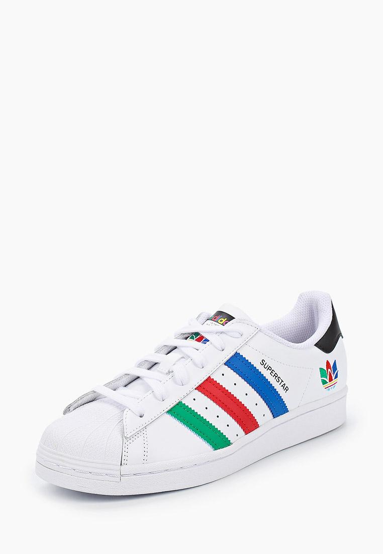 Кеды для мальчиков Adidas Originals (Адидас Ориджиналс) FW5236: изображение 2