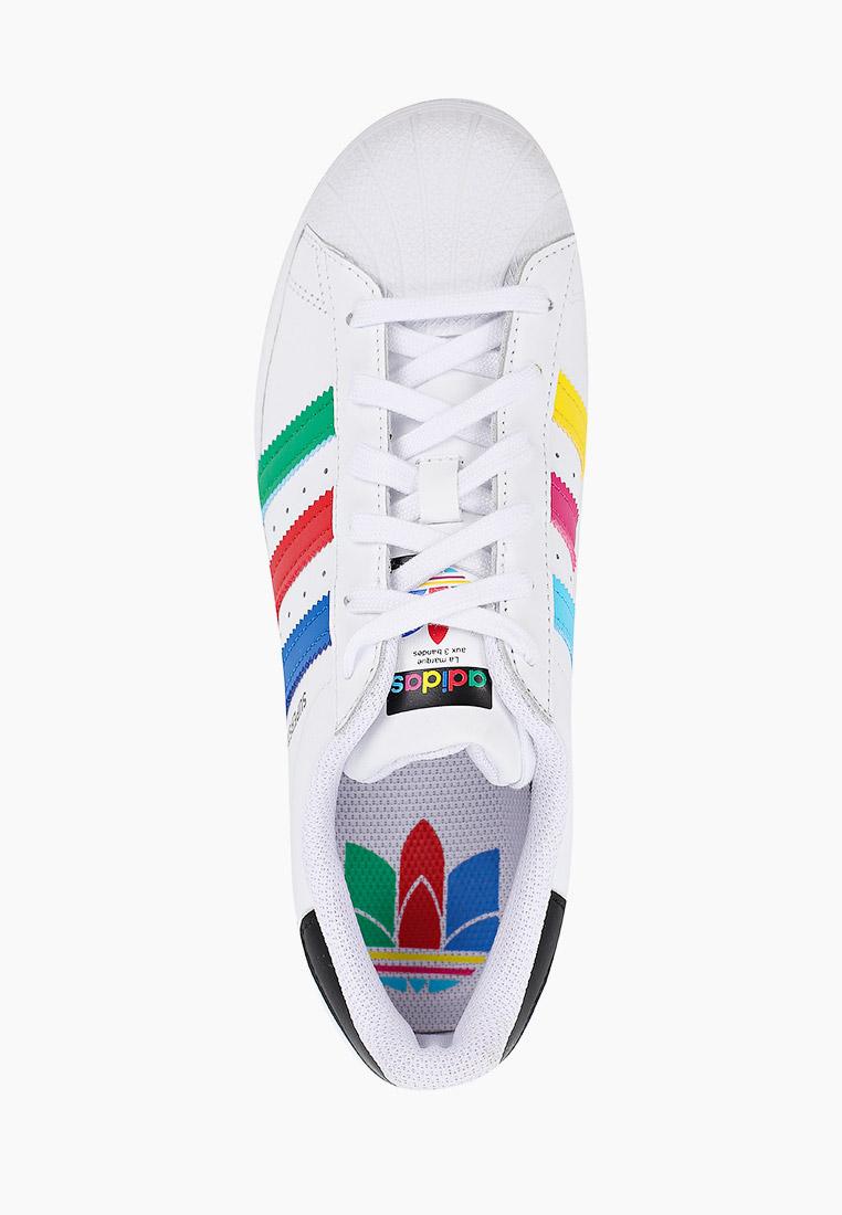 Кеды для мальчиков Adidas Originals (Адидас Ориджиналс) FW5236: изображение 4