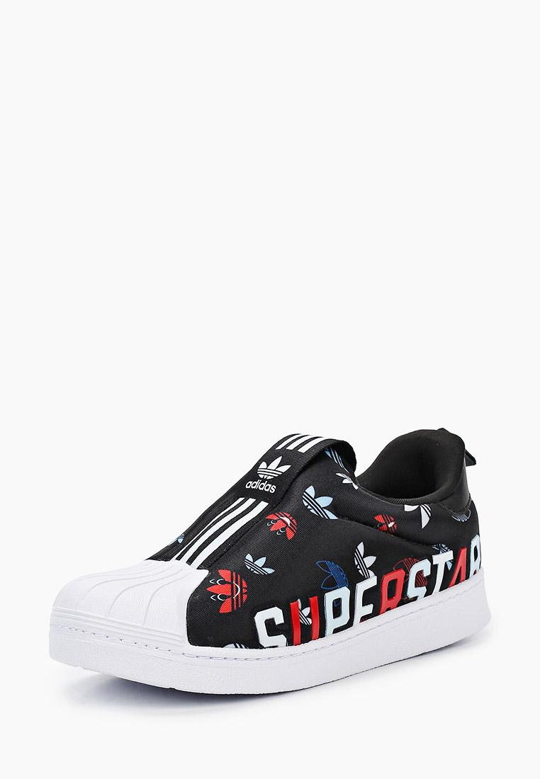 Мокасины для мальчиков Adidas Originals (Адидас Ориджиналс) FW0710: изображение 2