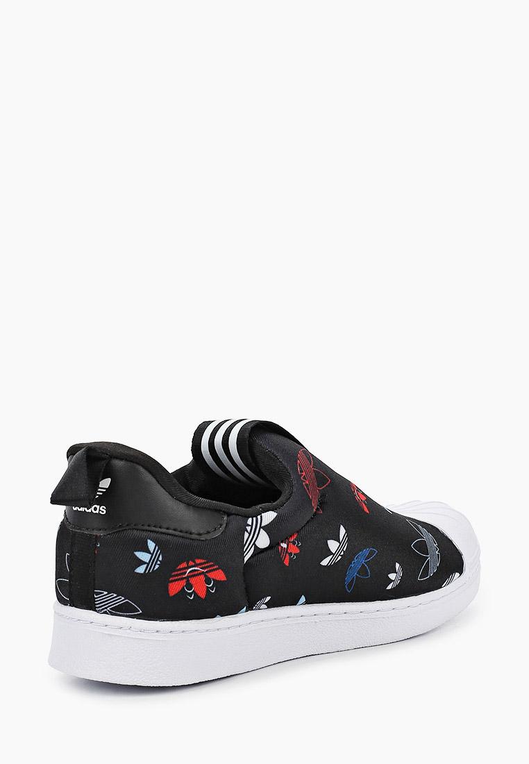 Мокасины для мальчиков Adidas Originals (Адидас Ориджиналс) FW0710: изображение 3