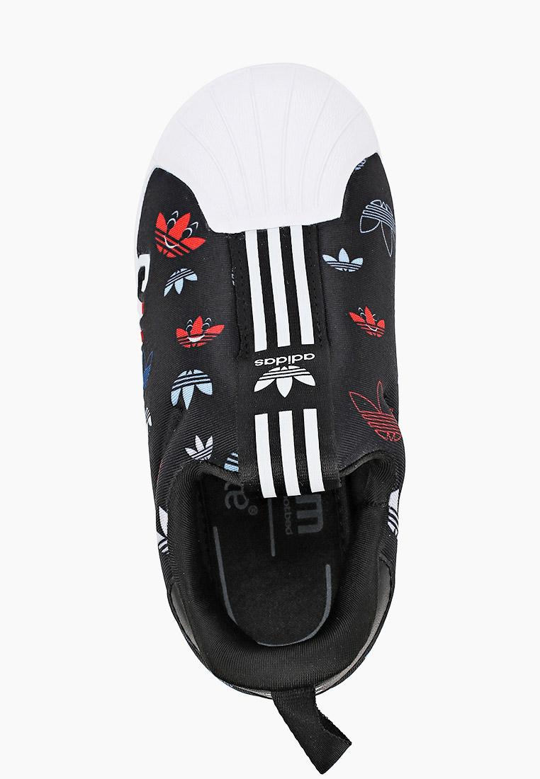 Мокасины для мальчиков Adidas Originals (Адидас Ориджиналс) FW0710: изображение 4