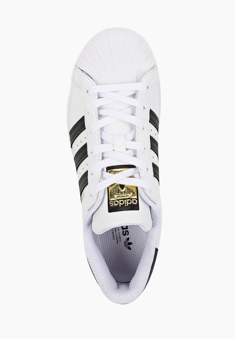 Кеды для мальчиков Adidas Originals (Адидас Ориджиналс) FU7712: изображение 4