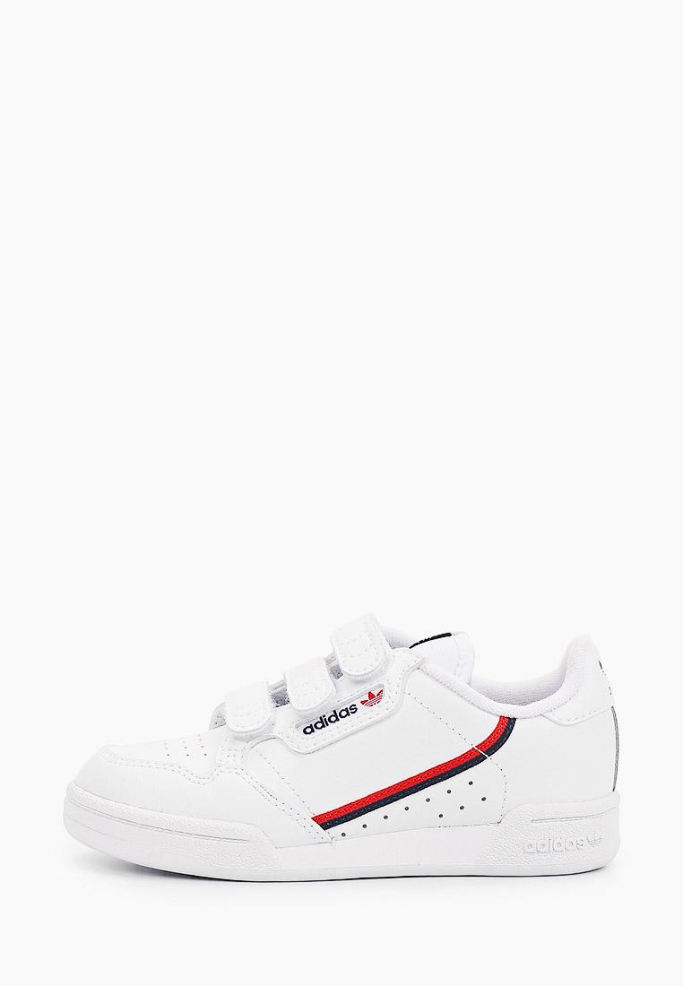 Кеды для мальчиков Adidas Originals (Адидас Ориджиналс) EH3222: изображение 1