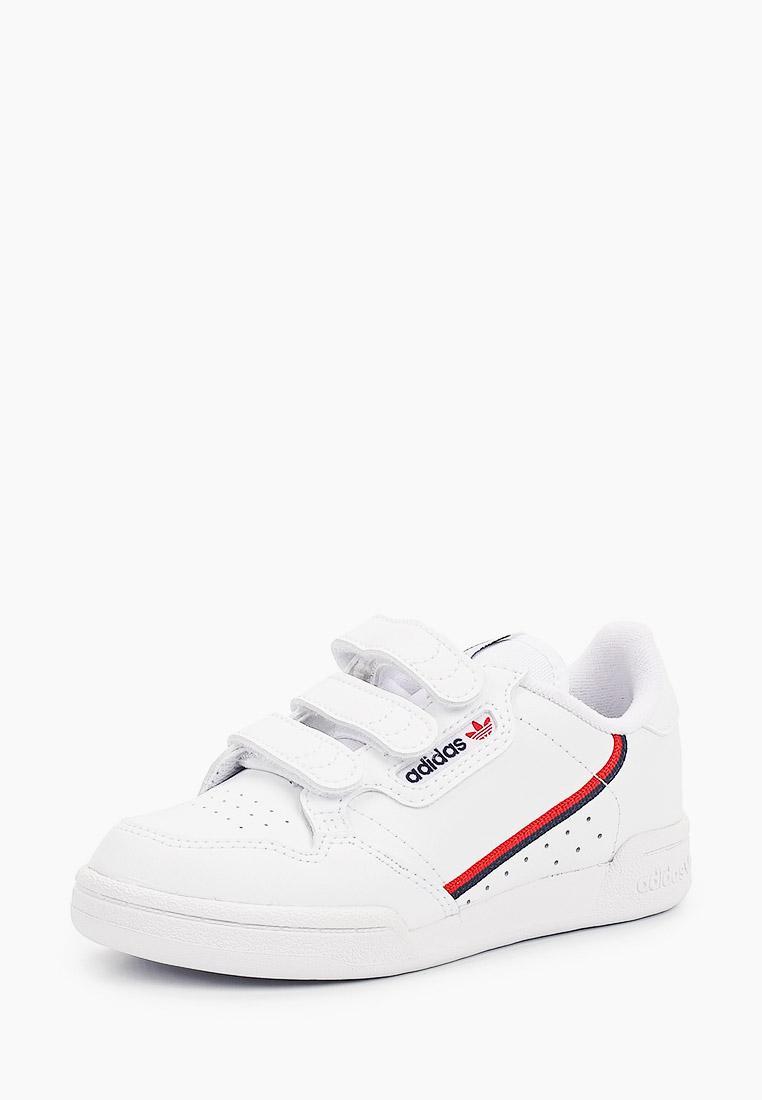 Кеды для мальчиков Adidas Originals (Адидас Ориджиналс) EH3222: изображение 2