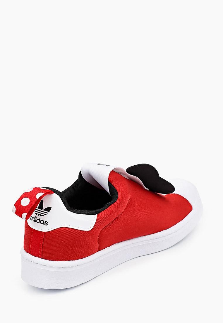Мокасины для мальчиков Adidas Originals (Адидас Ориджиналс) FX4901: изображение 3