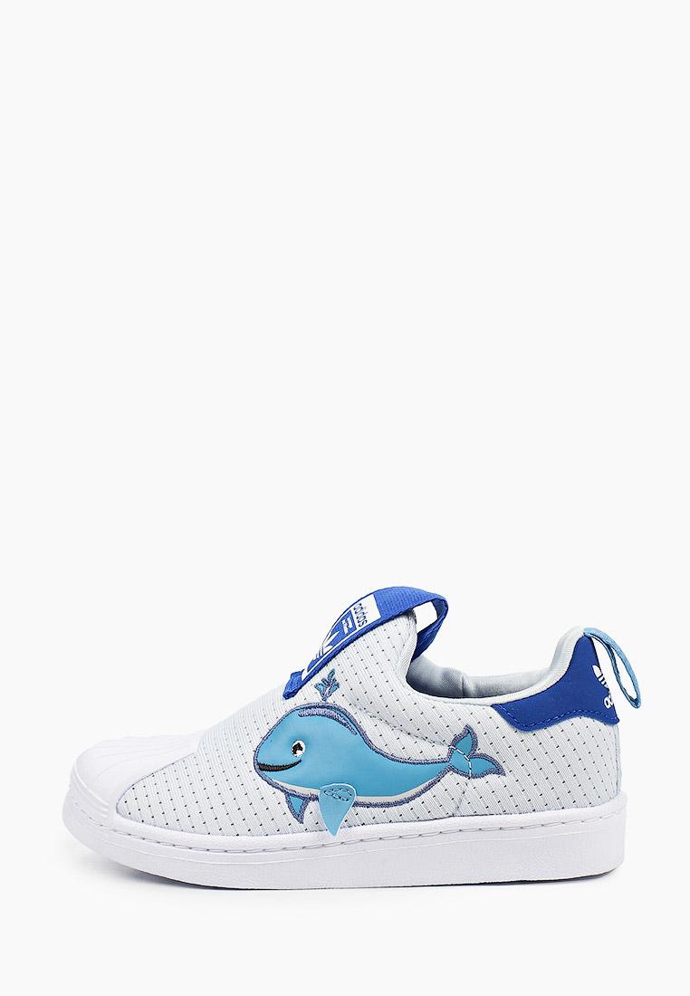 Мокасины для мальчиков Adidas Originals (Адидас Ориджиналс) FX4928: изображение 1
