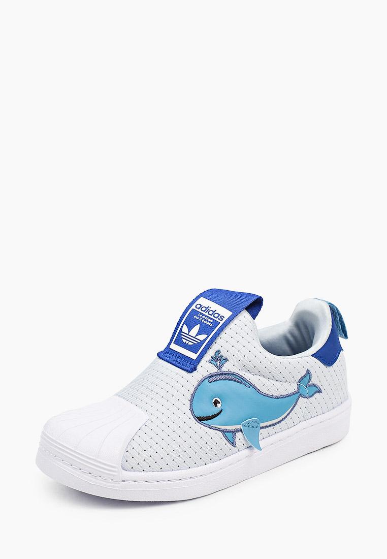 Мокасины для мальчиков Adidas Originals (Адидас Ориджиналс) FX4928: изображение 2