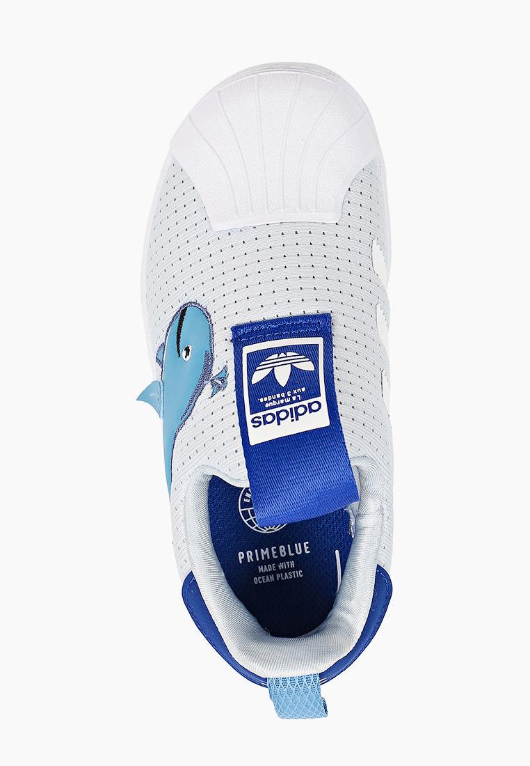 Мокасины для мальчиков Adidas Originals (Адидас Ориджиналс) FX4928: изображение 4