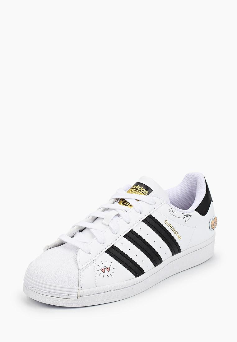 Кеды для мальчиков Adidas Originals (Адидас Ориджиналс) FX5202: изображение 2