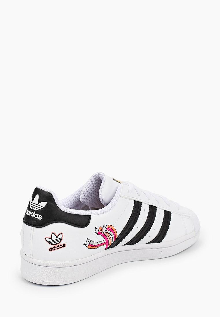 Кеды для мальчиков Adidas Originals (Адидас Ориджиналс) FX5202: изображение 3