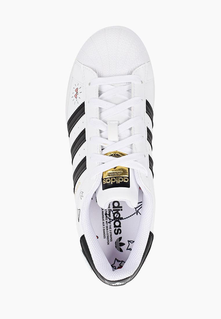 Кеды для мальчиков Adidas Originals (Адидас Ориджиналс) FX5202: изображение 4