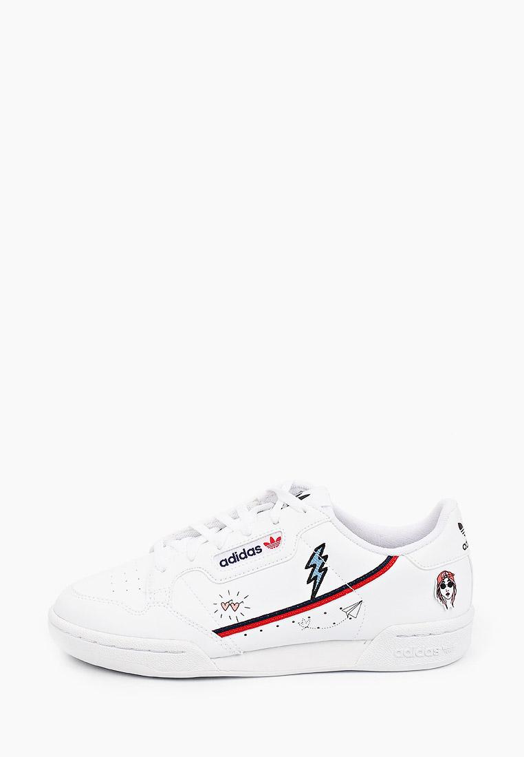 Кеды для мальчиков Adidas Originals (Адидас Ориджиналс) FX6067: изображение 1