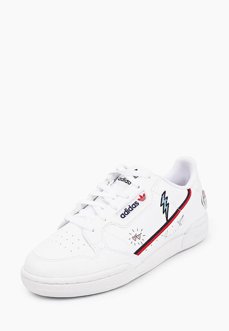 Кеды для мальчиков Adidas Originals (Адидас Ориджиналс) FX6067: изображение 2