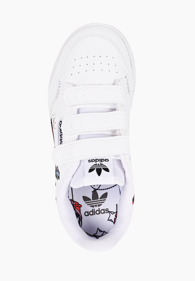 Кеды для мальчиков Adidas Originals (Адидас Ориджиналс) FX6070: изображение 4
