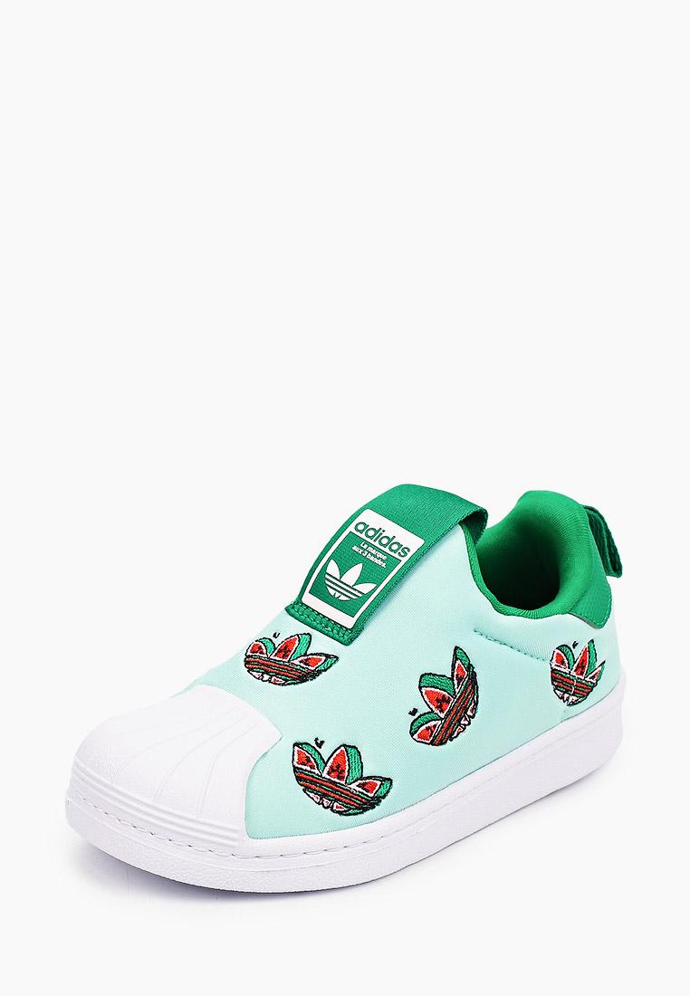 Мокасины для мальчиков Adidas Originals (Адидас Ориджиналс) FY4368: изображение 2