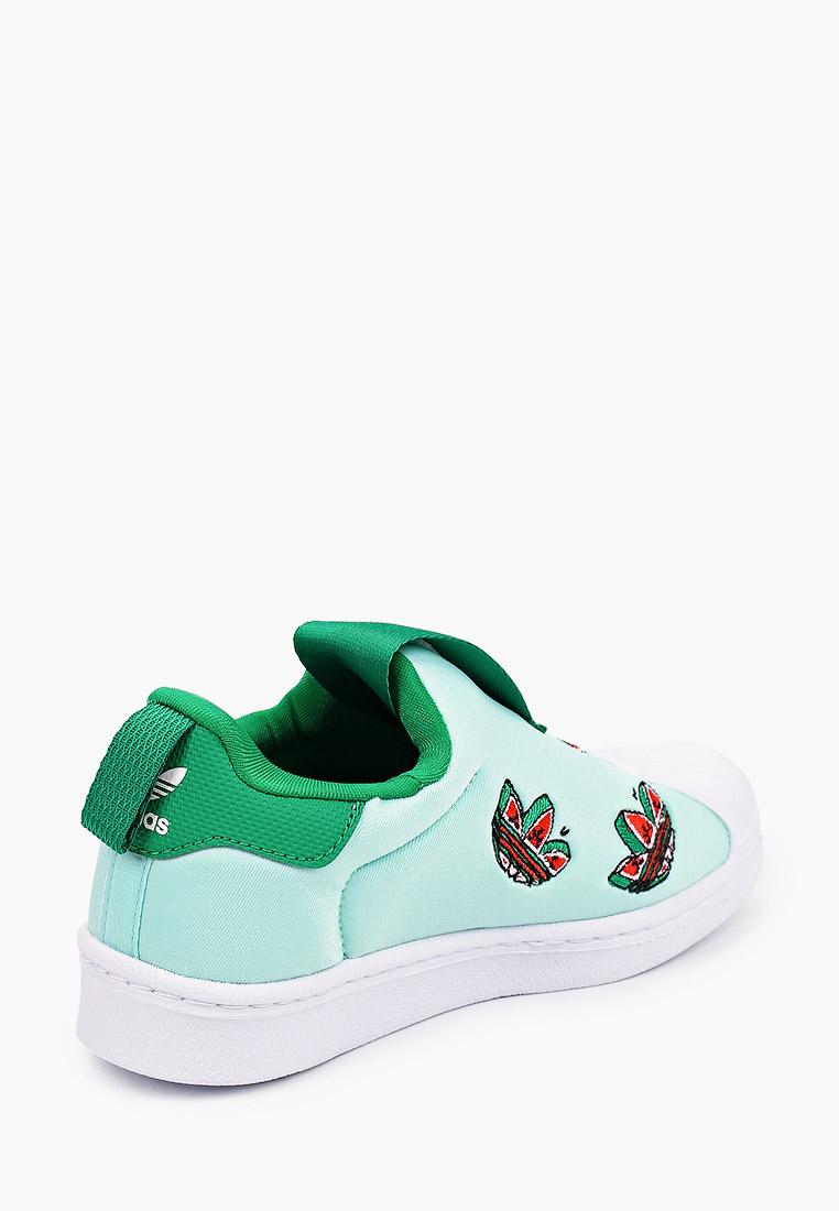 Мокасины для мальчиков Adidas Originals (Адидас Ориджиналс) FY4368: изображение 3