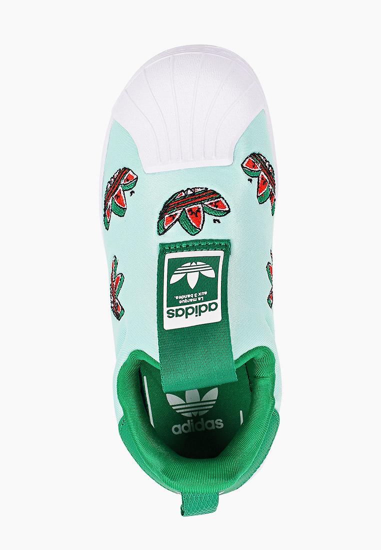 Мокасины для мальчиков Adidas Originals (Адидас Ориджиналс) FY4368: изображение 4