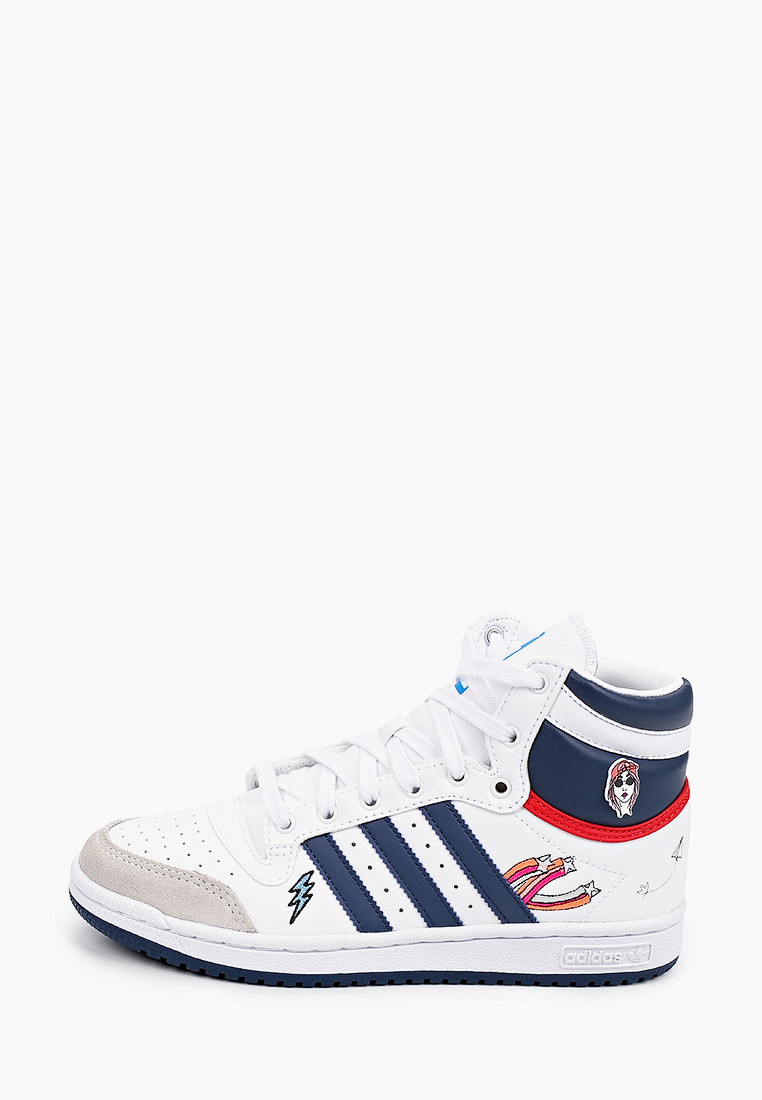 Кеды для мальчиков Adidas Originals (Адидас Ориджиналс) FY7163: изображение 1