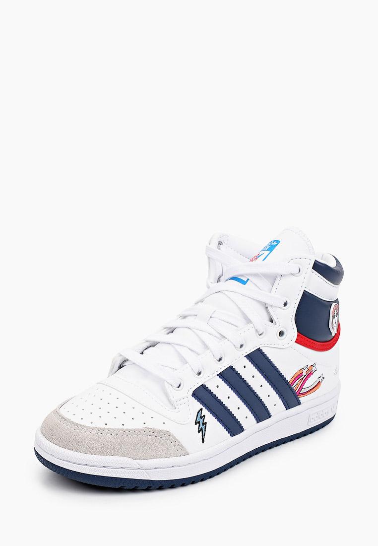 Кеды для мальчиков Adidas Originals (Адидас Ориджиналс) FY7163: изображение 2