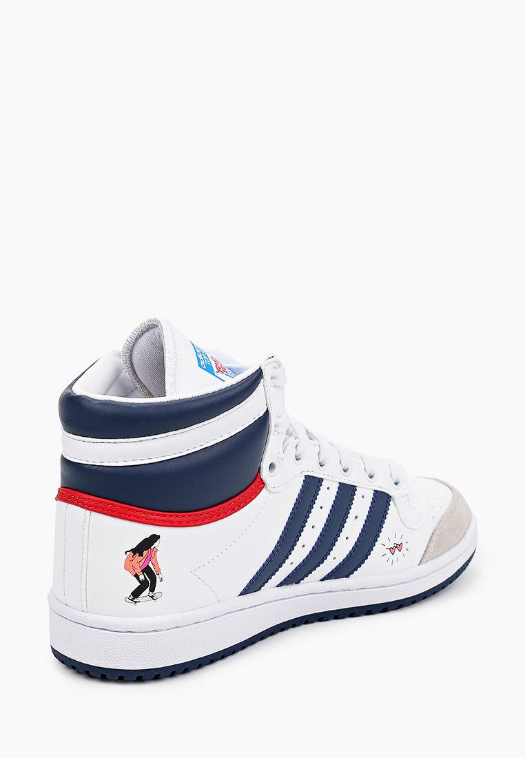 Кеды для мальчиков Adidas Originals (Адидас Ориджиналс) FY7163: изображение 3