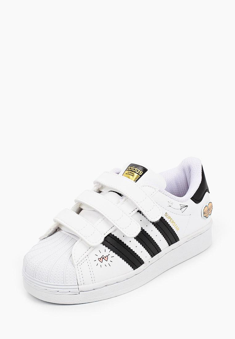 Кеды для мальчиков Adidas Originals (Адидас Ориджиналс) FZ0615: изображение 2