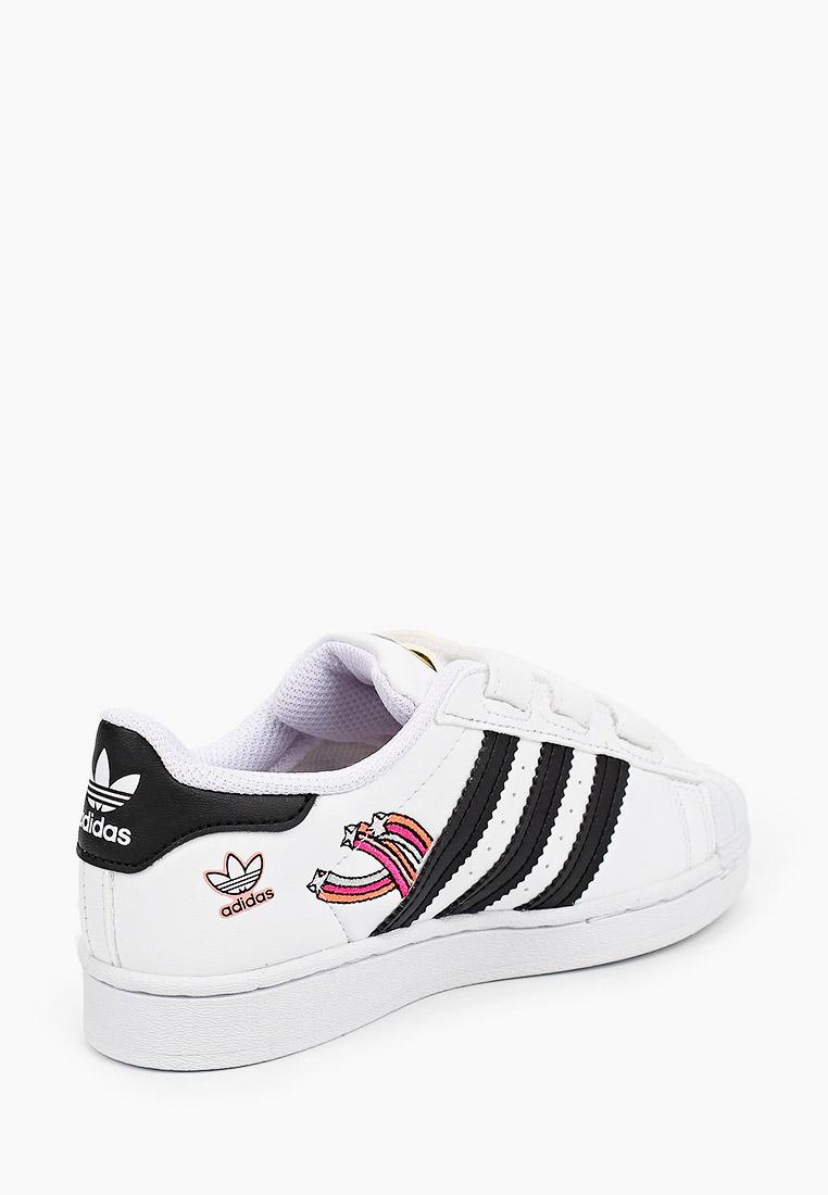 Кеды для мальчиков Adidas Originals (Адидас Ориджиналс) FZ0615: изображение 3