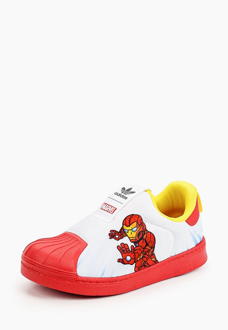 Кеды для мальчиков Adidas Originals (Адидас Ориджиналс) FX4883: изображение 2