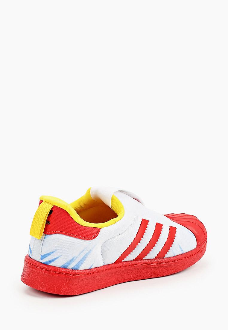 Кеды для мальчиков Adidas Originals (Адидас Ориджиналс) FX4883: изображение 3