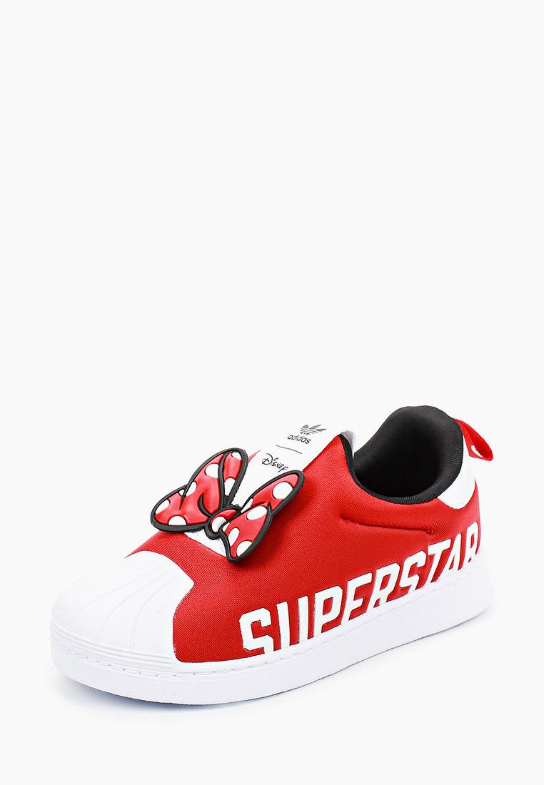 Мокасины для мальчиков Adidas Originals (Адидас Ориджиналс) FX4903: изображение 2