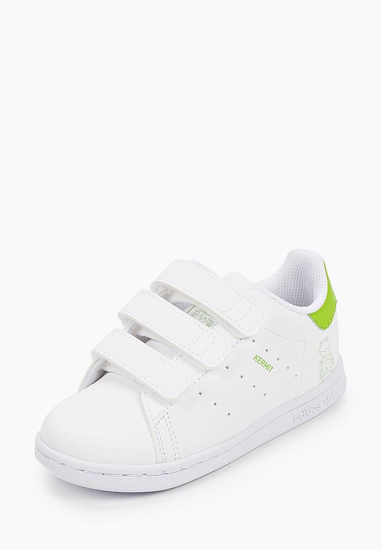 Кеды для мальчиков Adidas Originals (Адидас Ориджиналс) FZ1156: изображение 2