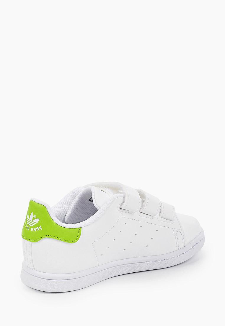 Кеды для мальчиков Adidas Originals (Адидас Ориджиналс) FZ1156: изображение 3