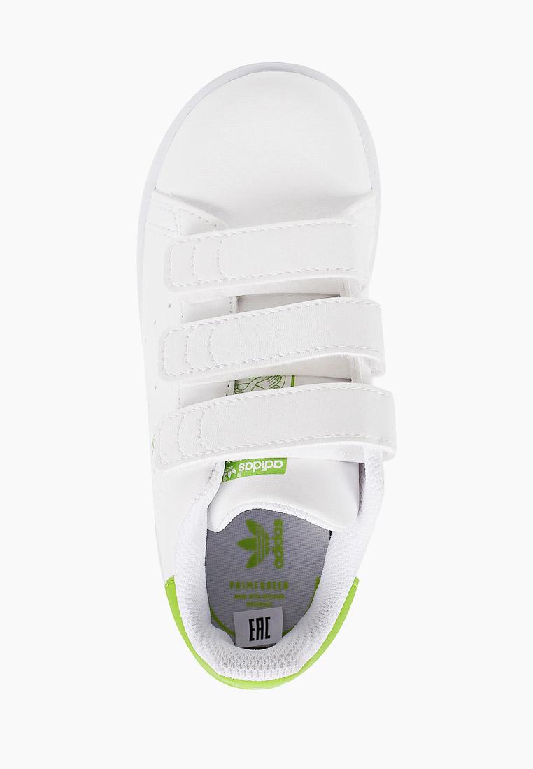 Кеды для мальчиков Adidas Originals (Адидас Ориджиналс) FZ1156: изображение 4