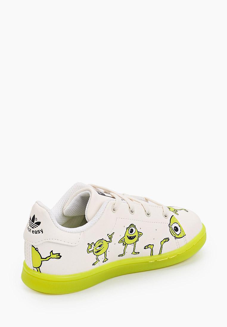 Кеды для мальчиков Adidas Originals (Адидас Ориджиналс) GZ8513: изображение 3